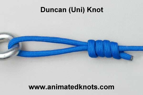 duncan (uni) knot
