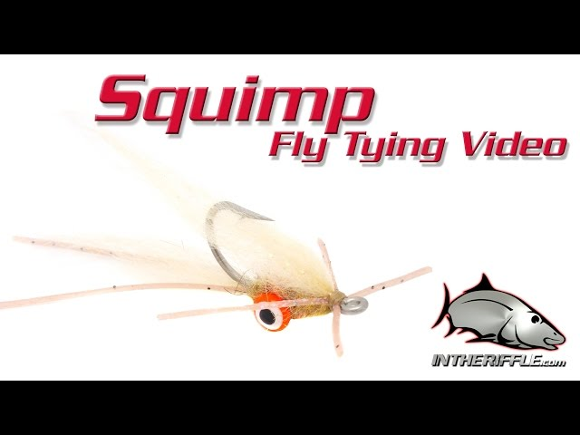Squimp fly tying video - intheriffle.com