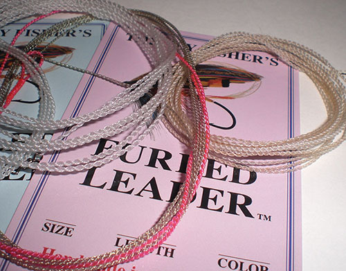Commercially available furled leaders