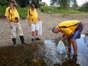 Don, Tony and Rodney at the Ellenborough River release site
