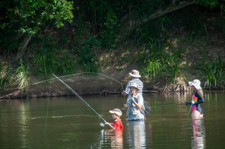 A family-friendly fly fishing club