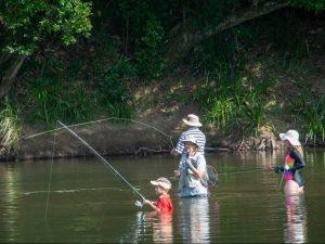 A family-friendly fly fishing club