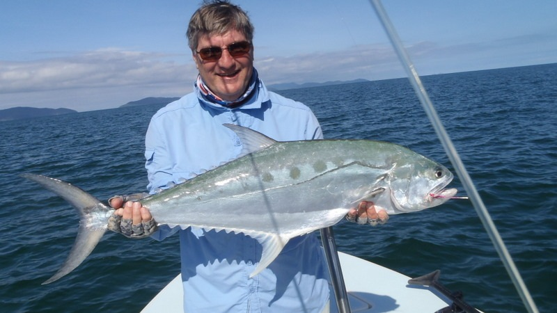 Ken Holley with Queenfish